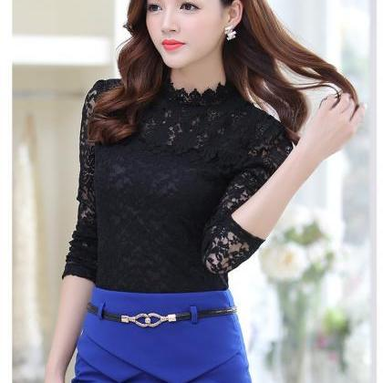 Elegant Spring Summer Long Sleeve L..