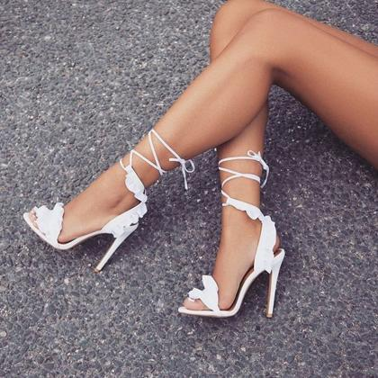 Sexy Lace up Gladiator Fashion Sand..