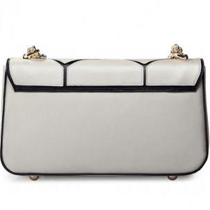 Chic Champagne Colored Shoulder Bag..