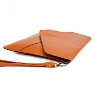 Brown Clutch Bag
