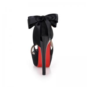 Sexy Back Bow knot Design High Heel..