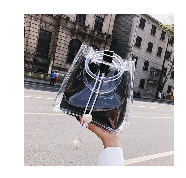 Trendy Transparent Jelly Bag