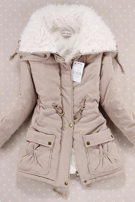 Chic Padded Women's Autumn and Winter Coat