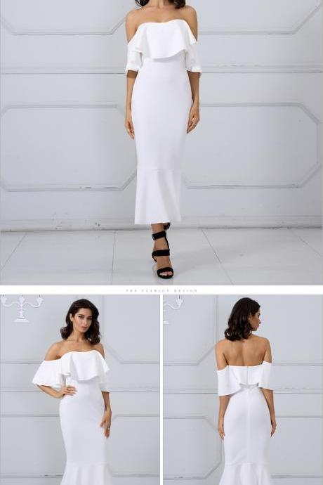 Gorgeous Off Shoulder Bodycon Party Dresses