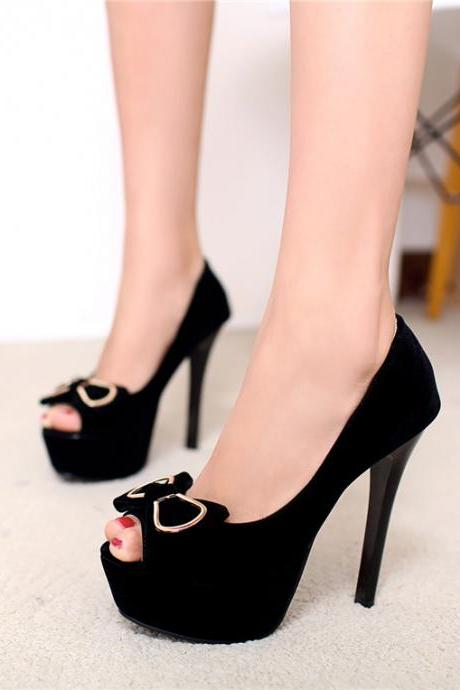Peep Toe High Heels Fashion Sandals