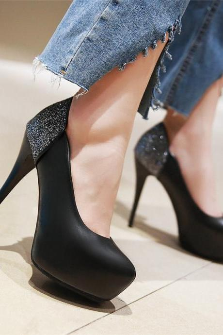 Sexy women's High Heels Fashion Party Pumps