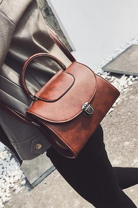 High Quality Leather Messenger Bag