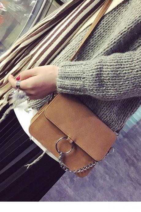 Chic Retro Messenger Bag Shoulder Bag