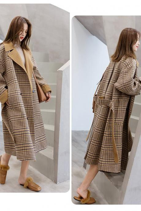 Chic European Style Women's Winter Coat