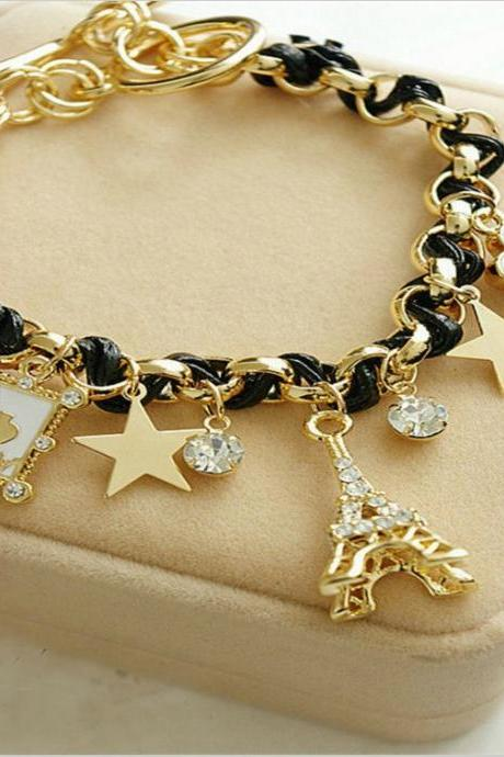 Paris Charmed Bracelet