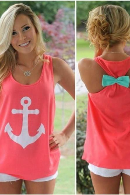 Loose Anchor Tank Top