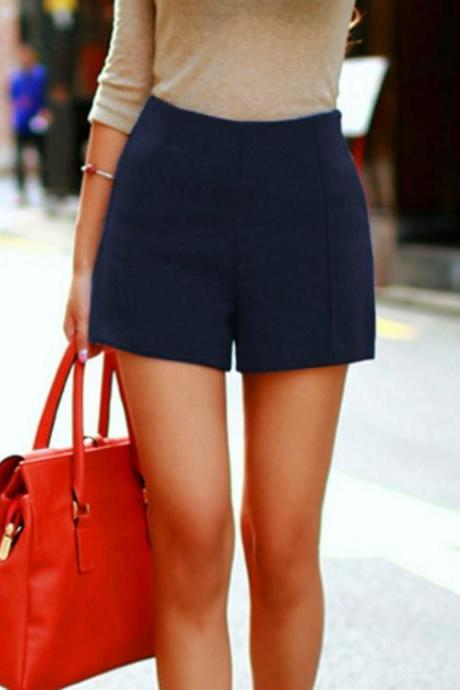 Chic High Waist Shorts