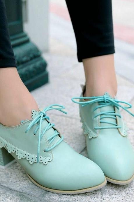 Classy Lace up Oxford Shoes