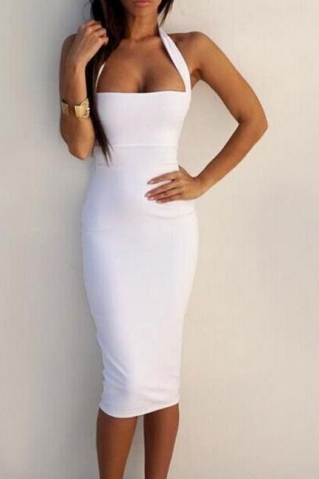 Sexy Body con Halter Dress