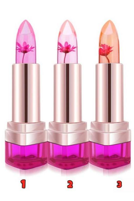 Lip Balm 3 Color Waterproof Long-lasting Pink Moisturizer Lipstick