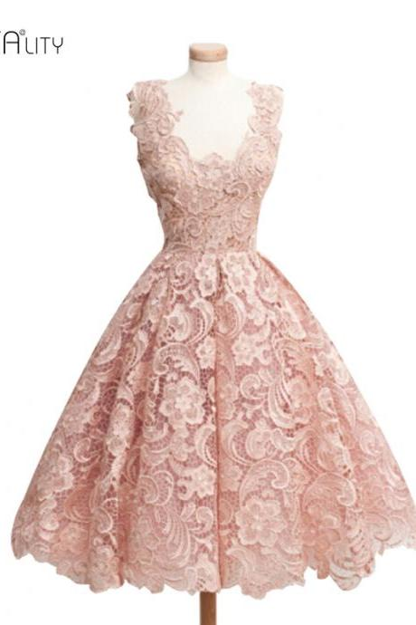 Gorgeous Ball Gown Design Lace Dresses in Black Pink White Blue and Red
