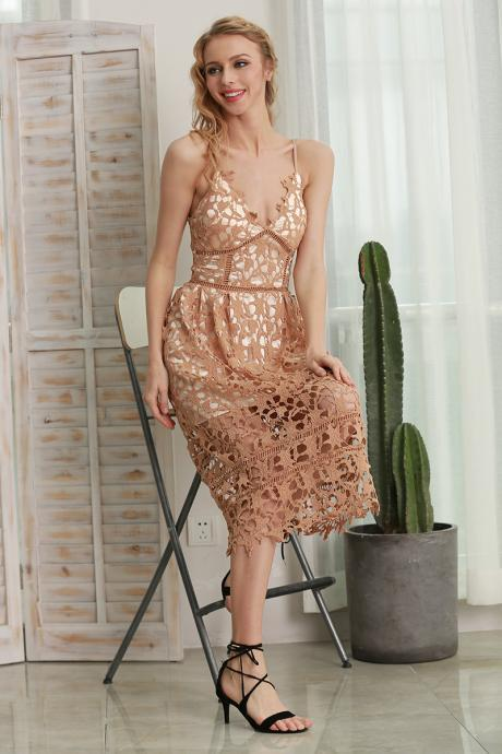 Gorgeous Lace Party Summer Dress