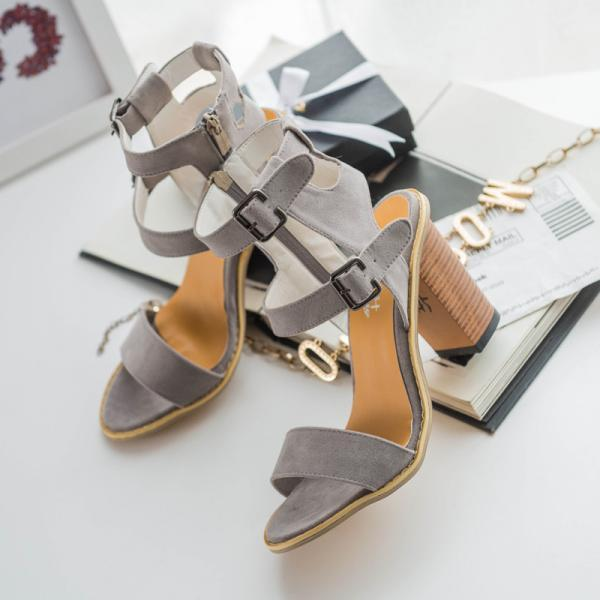 Peep Toe Gladiator Ankle Strap Women's Sandals