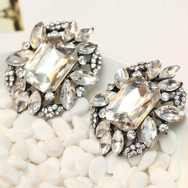 Gorgeous Crystal Earrings
