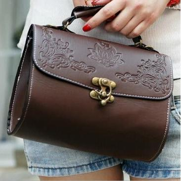 Retro Vintage PU Leather Messenger Bag