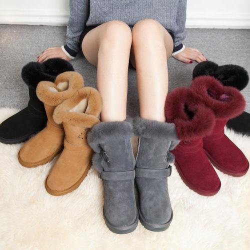 Winter Faux Fur Warm Snow Boots