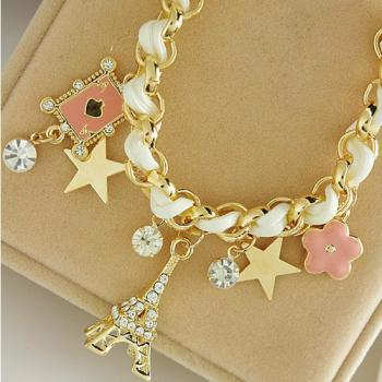 Paris Charmed Fashion Bracelet
