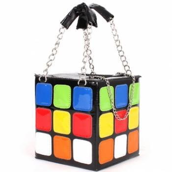 Stylish Unique Cube Handbag