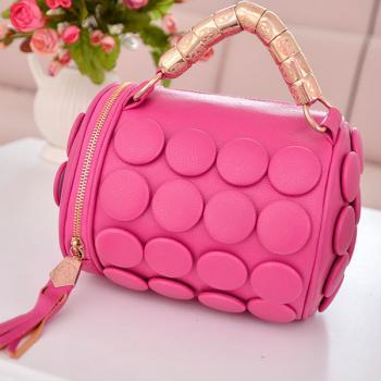 Cute Tassel Embellished Rose Fashion Hand Bag