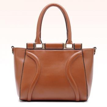 Luxury Brown Fashion Handbag