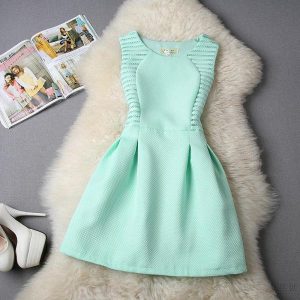 Cute Sleeveless Summer Dress