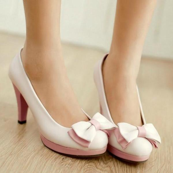 Cute Bow knot Fashion Shoes